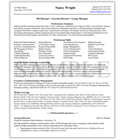 Professional Management Level Resume Writing Service